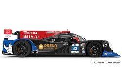 The Ligier JS P2-Honda