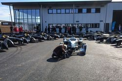 The first 10 Formula E cars are delivered and presented