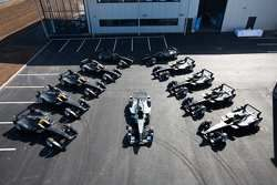 The 11 Spark-Renault STR_01E cars