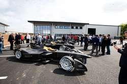 Presentation of the Spark-Renault STR_01E cars