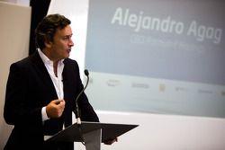Alejandro Agag dévoilent les locaux de la Formule E
