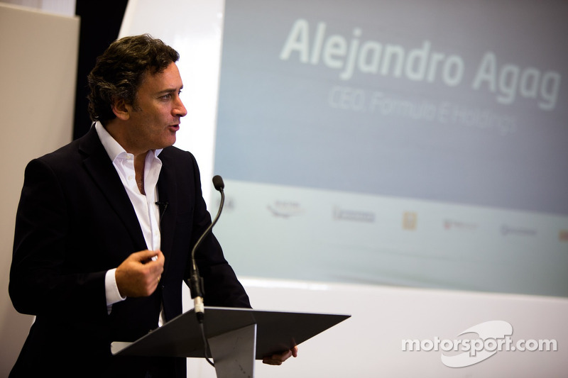Alejandro Agag, CEO, unveils the Formula E headquarters