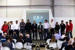 Presentatie van het Formule E-hoofdkwartier