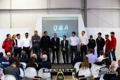 Formula E cars presentation