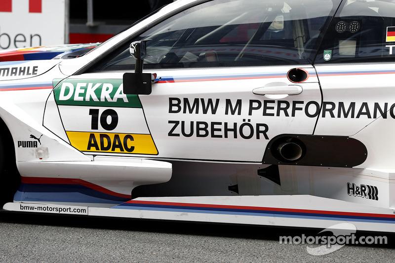 Detail Martin Tomczyk, BMW Team Schnitzer BMW M4 DTM