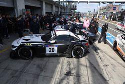 Jens Klingmann, Dominik Baumann, Claudia Hurtgen, BMW Sports Trophy Team Schubert, BMW Z4 GT3