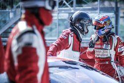 #94 AF Corse Ferrari F458 Italia GT3: Thomas Flohr, Francesco Castellacci