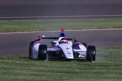 Trouble for Mikhail Aleshin, Schmidt Peterson Hamilton Motorsports Honda