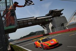 Spirit of Race Ferrari 458 Italia GT3: Anthony Liu et Davide Rizzo