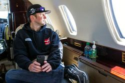 Kurt Busch travels back to Charlotte Motor Speedway from Indianapolis