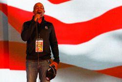 Darius Rucker performs the National Anthem