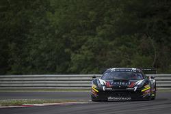 #90 Scuderia Villorba Corse Ferrari 458 Italia: Filip Salaquarda, Andrea Montermini