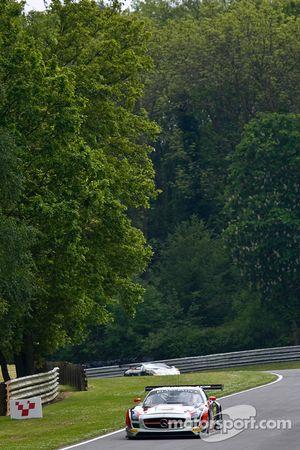 #62 Fortec Motorsports 梅赛德斯 SLS AMG GT3: 本杰明·赫瑟林顿, 阿尔曼·易卜拉欣