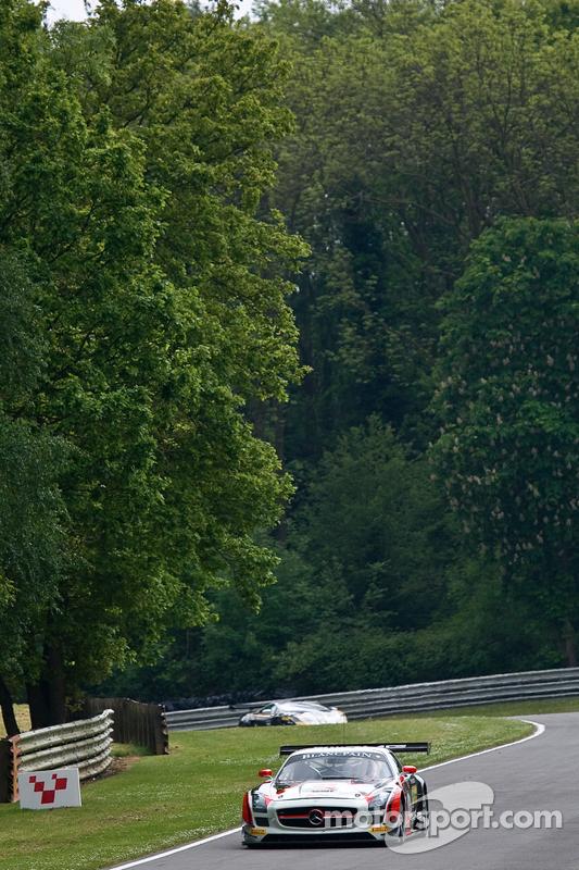 #62 Fortec Motorsports Mercedes SLS AMG GT3: Benjamin Hetherington, Armaan Ebrahim