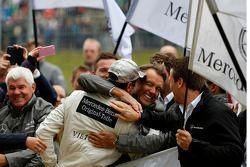 Le vainqueur Christian Vietoris, Mercedes AMG DTM-Team HWA DTM Mercedes AMG C-Coupe
