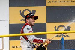 Podium, Mike Rockenfeller, Audi Sport Team Phoenix Audi RS 5 DTM