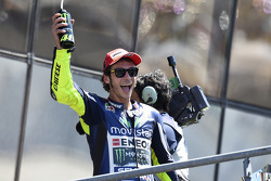 Валентино Росси. ГП Франции, воскресенье, после гонки.