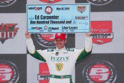 Il Vincitore della Pole Ed Carpenter, Ed Carpenter Racing Chevrolet