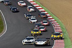 Start: #28 Grasser Lamborghini LFII Yarış Takımı: Hari Proczyk, Jeroen Bleekemolen