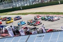 Start: #38 Jota Sport Zytek Z11SN Nissan: Simon Dolan, Harry Tincknell, Filipe Albuquerque leidt