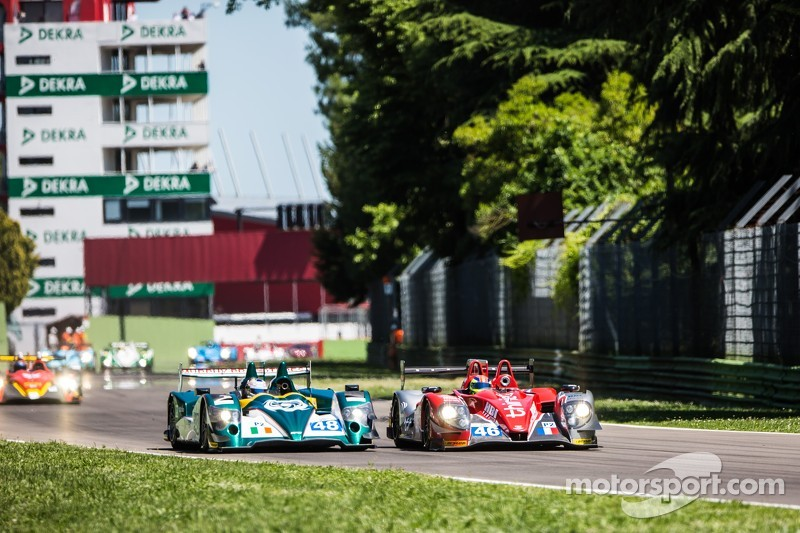 #41 Greaves Motorsport Zytek Z11SN Nissan: Tom Kimber-Smith, Chris Dyson, Matthew McMurry e #46 Thiriet by TDS Racing Morgan Nissan: Pierre Thiriet, Ludovic Badey, Tristan Gommendy