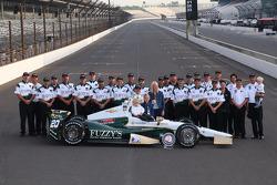 Sesión de fotos con el ganador de la pole Ed Carpenter, Ed Carpenter Racing Chevrolet