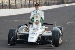 Pole position, séance photo : Ed Carpenter, Ed Carpenter Racing Chevrolet