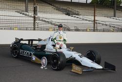Polesitter photoshoot: Ed Carpenter, Ed Carpenter Racing Chevrolet