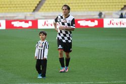 Felipe Massa, at the charity football match