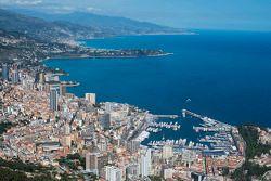 Luftaufnahme: Monaco