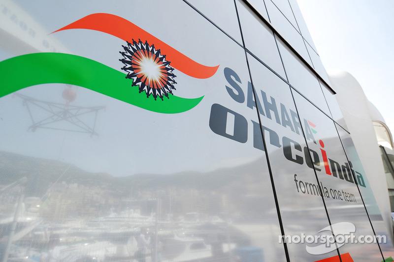 Sahara Force India F1 Team, motorhome