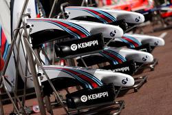 Williams F1 Team asas dianteiras