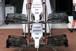Williams FW36 asa dianteiras