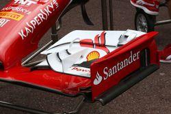 Ferrari F14-T front wing detail