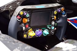 Mercedes AMG F1 W05 steering wheel
