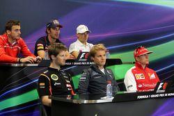 FIA conferência de imprensa