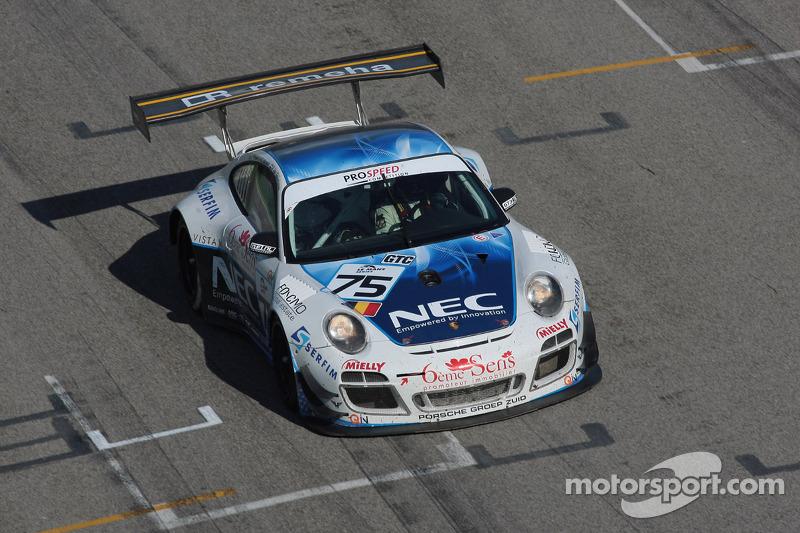 #75 PROSPEED Competition Porsche 911 GT3 RSR: Paul Van Splunteren, Maxime Soulet, Dimitris Deverikos