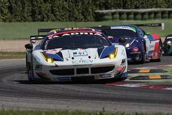 #58 Team Sofrev-Asp Ferrari F458 Italia: Fabien Barthez, Anthony Pons, Soheil Ayari