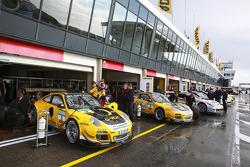 #3 GW IT Racing Team Schötz Motorsport Porsche 911 GT3 R: Kevin Estre, Jaap van Lagen