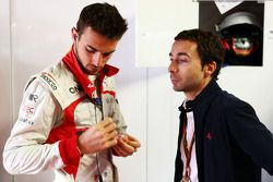 Jules Bianchi, Marussia F1 Team; Nicolas Todt, Fahrermanager