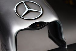 Mercedes AMG F1 W05 sensor inside the nosecone