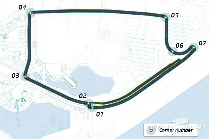 Formula E, il tracciato di Long Beach