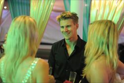 Nico Hulkenberg, Sahara Force India F1 with guests at the Signature Monaco Party on the Indian Empre