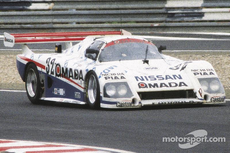 1986 #32 Nissan R85V: Masahiro Hasemi, Takao Wada, James Weaver
