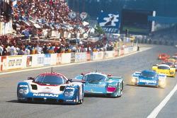 Ари Линдик, Чип Робинсон и Джефф Брэбэм. Ретроспектива выступлений Nissan в Ле-Мане, особое событие.