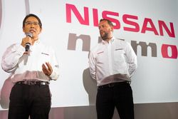 NISMO President Shoichi Miyatani and NISMO Global Head of Brand, Marketing & Sales, Darren Cox