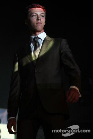 Daniil Kvyat, Scuderia Toro Rosso en el Amber Lounge Fashion Show