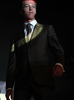 Daniil Kvyat, Scuderia Toro Rosso Amber Lounge Fashion Show'da