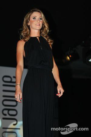 Camille Marchetti, fidanzata di Jules Bianchi, Marussia F1 Team all'Amber Lounge Fashion Show