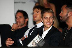 Justin Bieber, Singer at the Amber Lounge Fashion Show